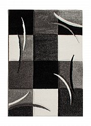 Alfombra 160 x 230 cm (wilton) - London Patch (negro)