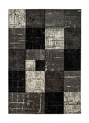 Alfombra 160 x 230 cm (wilton) - London Square (negro)