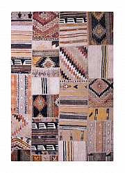 Alfombra 200 x 290 cm (wilton) - Tibet Patch (multicolor)