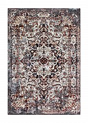 Alfombra 155 x 230 cm (wilton) - Shiraz Medallion (marrón)