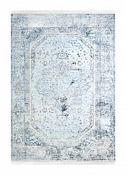 Alfombra 160 x 230 cm (wilton) - Colourful Medallion (gris)