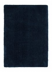 Alfombra 160 x 230 cm (pelo largo) - Soft dream (azul)