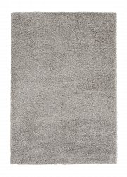 Alfombra 160 x 230 cm (pelo largo) - Soft dream (gris)
