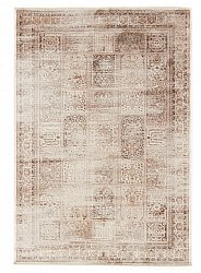 Alfombra 160 x 230 cm (wilton) - Thema Monstera (beige)
