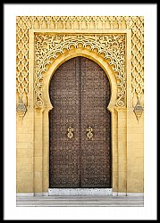 Arabic Oriental Styled Door