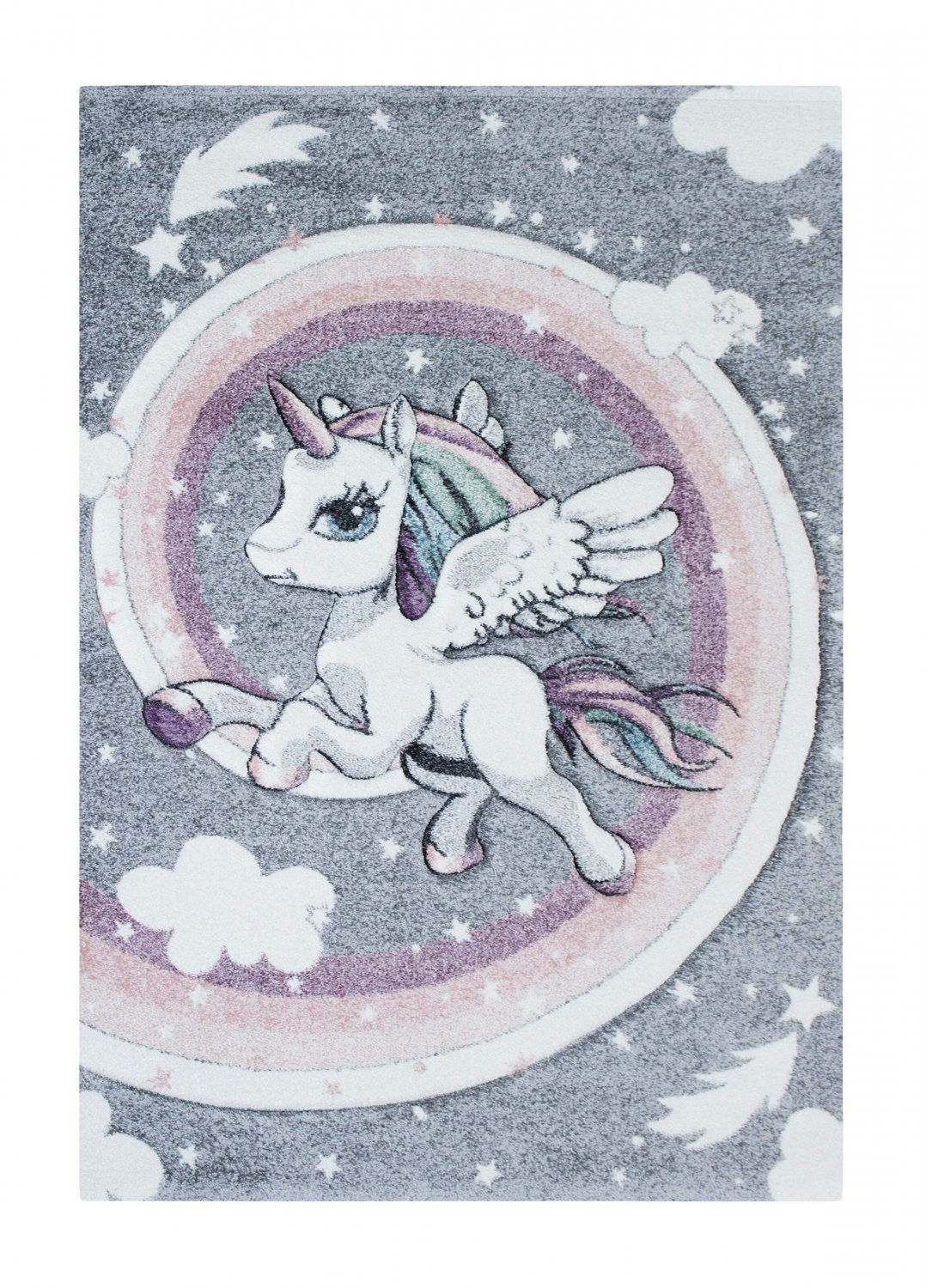 Alfombra infantil - Atlas Unicorn (multicolor)