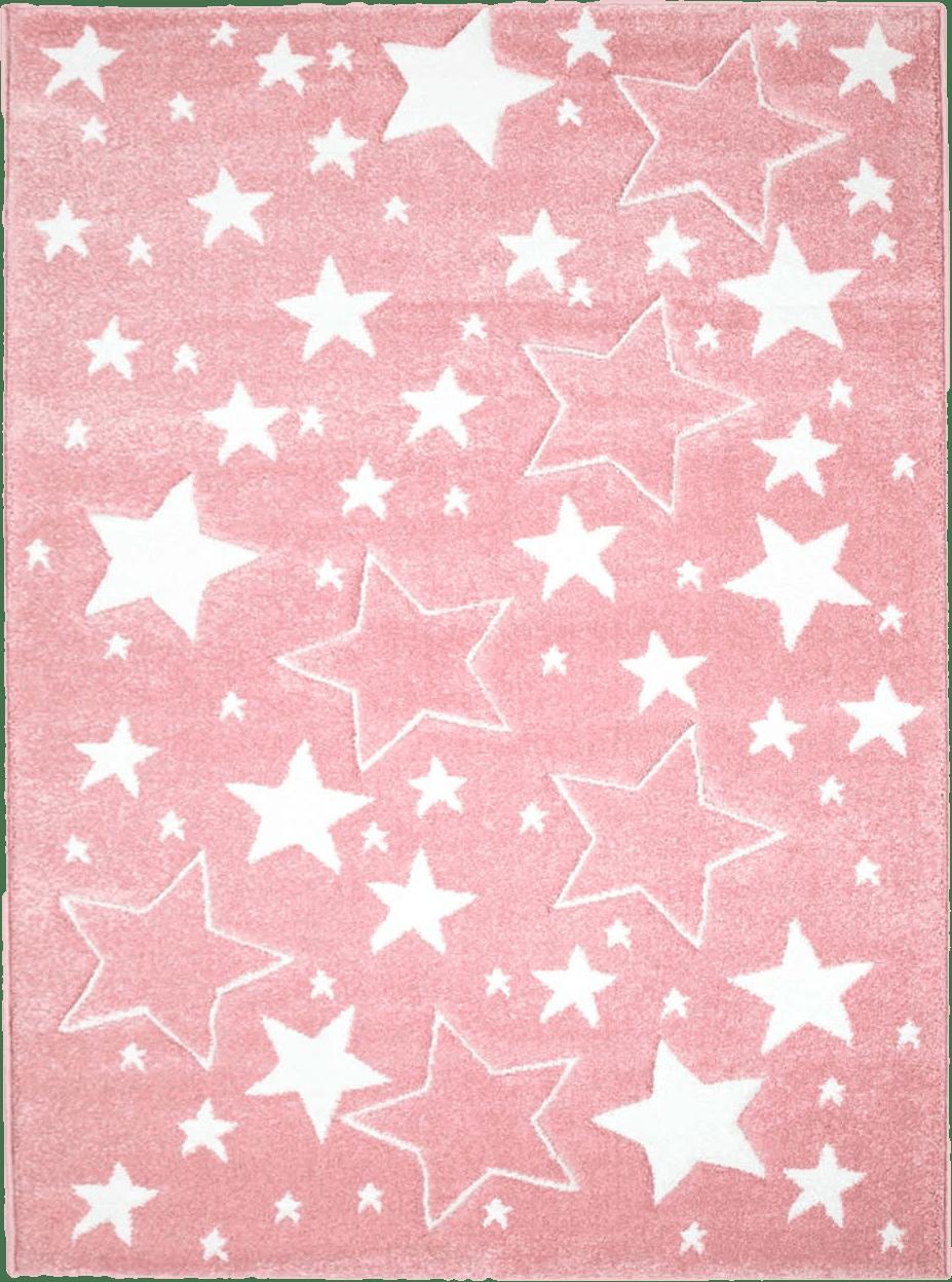 Alfombra infantil Bueno Stars (rosa) Trendcarpet.es